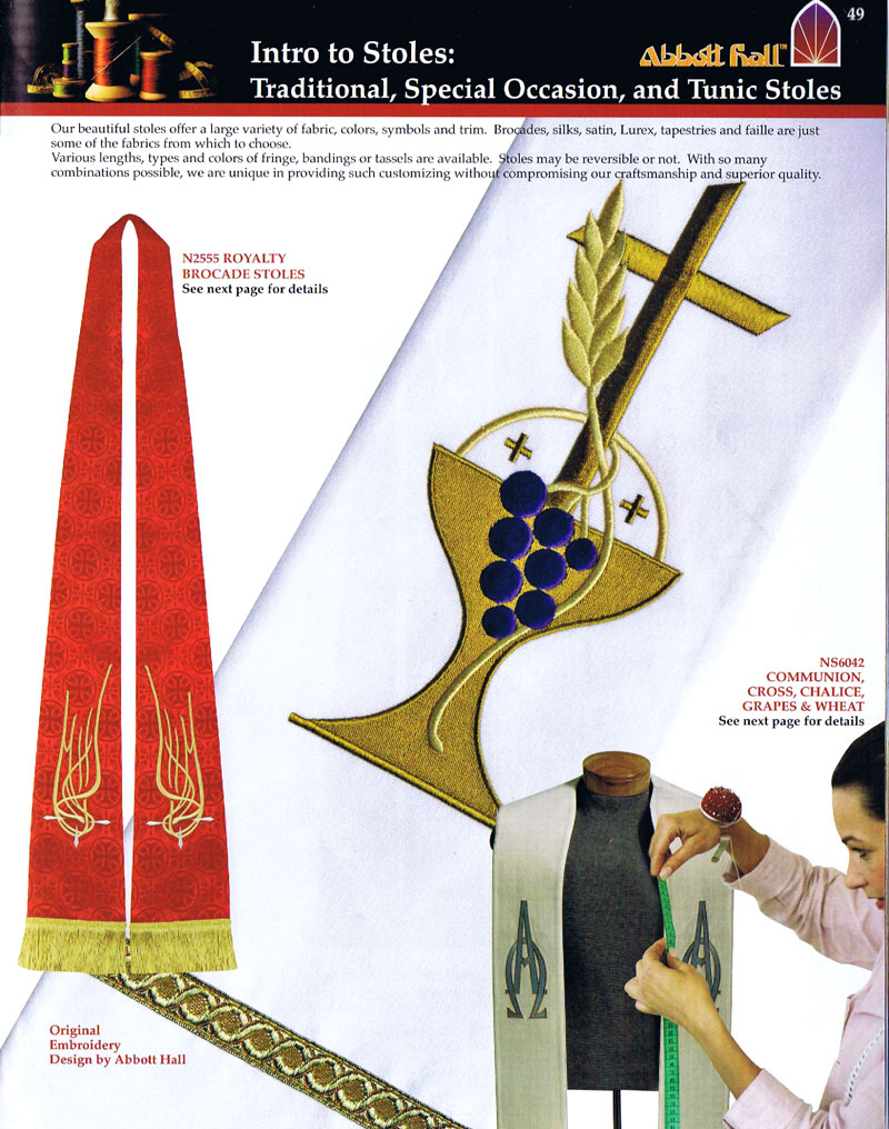 Clergy Stoles | Abbott Hall